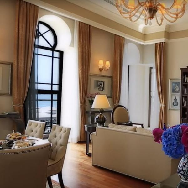 Two Bedroom Bosphorus Palace Suite (one king bed and two twin beds – for up to five people)